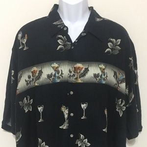 Pierre Cardin Short Sleeve Button Up Shirt
